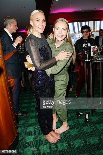 German actress Natascha Ochsenknecht and her daughter model Cheyenne Savannah Ochsenknecht attend the 1st Anniversary Celebration Of Berlin Blonds on...