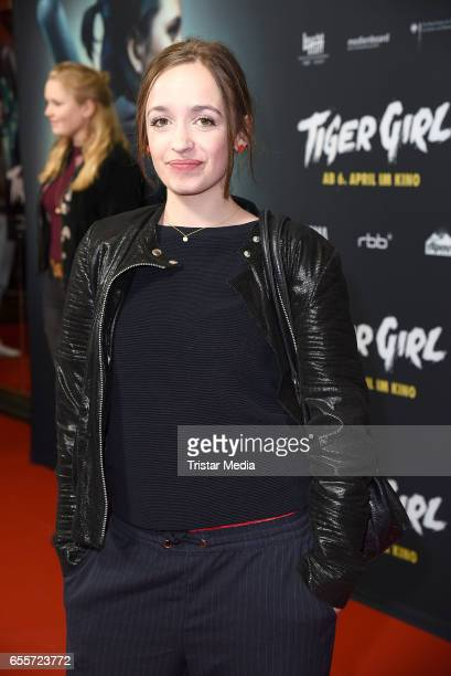 German actress Nellie Thalbach attends the premiere of the film 'Tiger Girl' at Zoo Palast on March 20 2017 in Berlin Germany