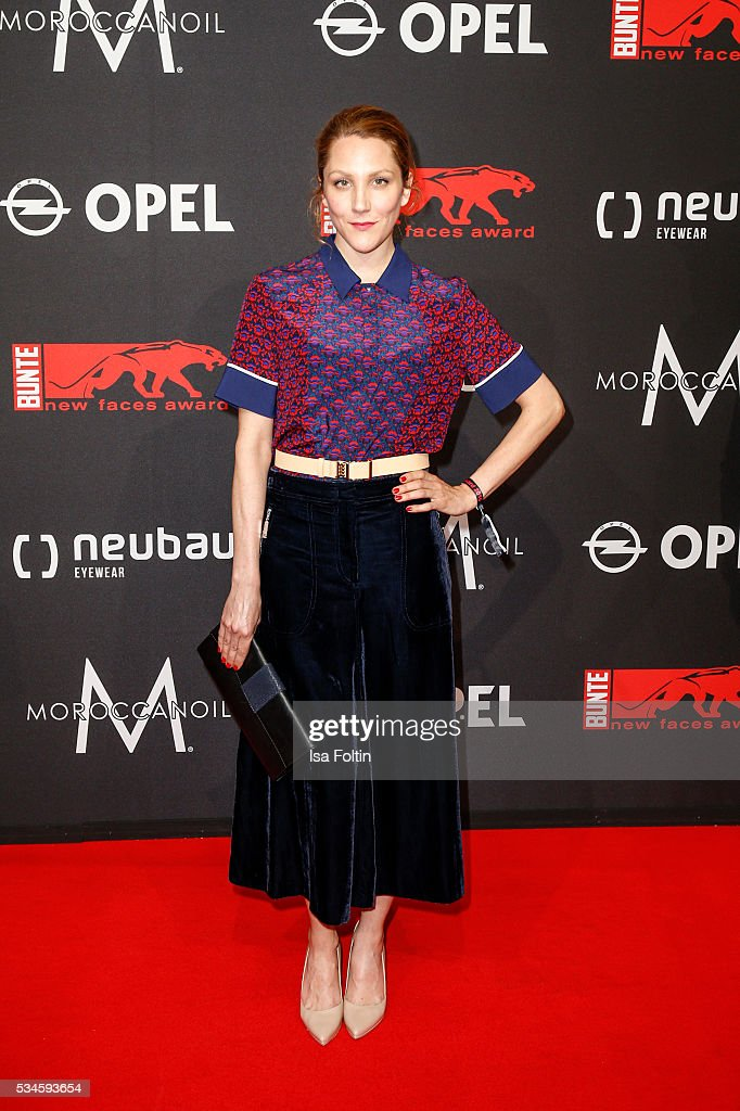 German actress Nikola Kastner attends the New Faces Award Film 2016 at ewerk on May 26, 2016 in Berlin, Germany.