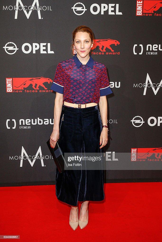 German actress Nikola Kastner attends the New Faces Award Film 2016 at ewerk on May 26, 2016 in Berlin, Germany.