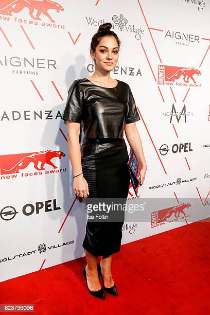 German actress Nilam Farooq attends the New Faces Award Fashion 2016 the New Faces Award Fashion 2016 on November 16 2016 in Berlin Germany