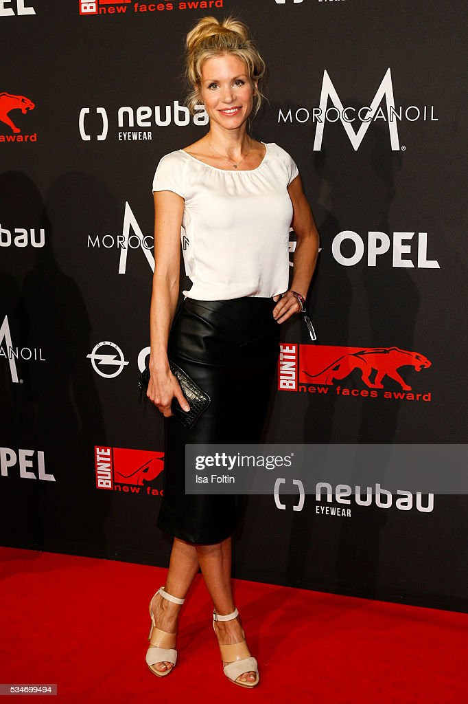 German actress Nina Friederike Gnaedig attends the New Faces Award Film 2016 at ewerk on May 26, 2016 in Berlin, Germany.