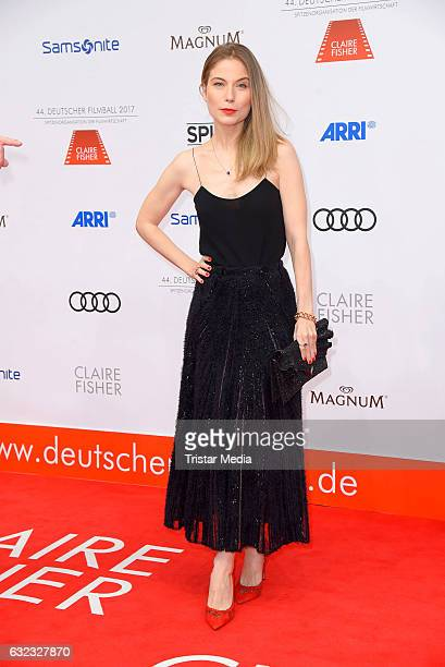 German actress Nora von Waldstaetten attends the German Film Ball 2017 at Hotel Bayerischer Hof on January 21 2017 in Munich Germany