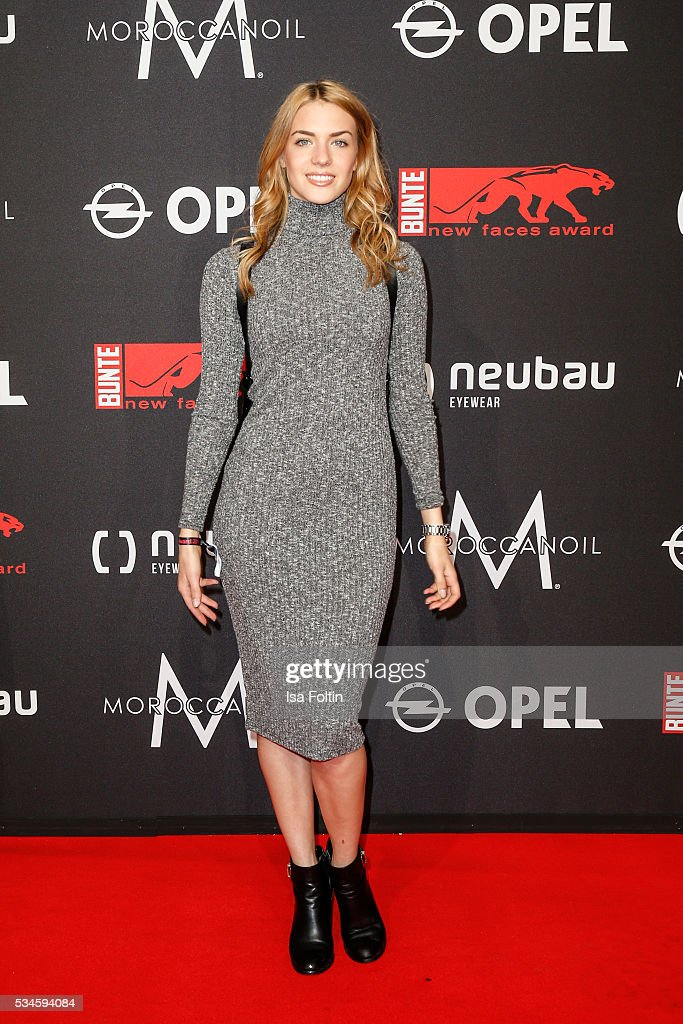 German actress Paula Riemann attends the New Faces Award Film 2016 at ewerk on May 26, 2016 in Berlin, Germany.