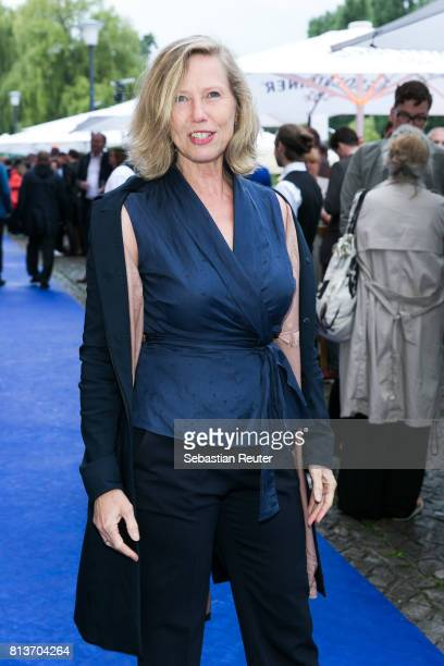 German actress Petra Zieser attends the summer party 2017 of the German Producers Alliance on July 12 2017 in Berlin Germany