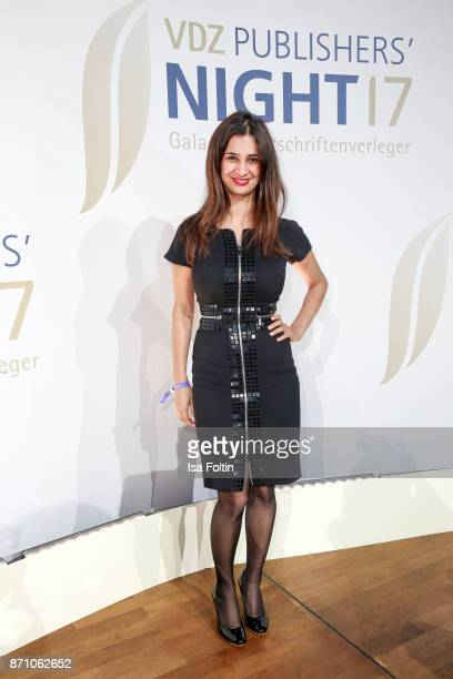 German actress Rabeah Rahimi during the VDZ Publishers' Night at Deutsche Telekom's representative office on November 6 2017 in Berlin Germany