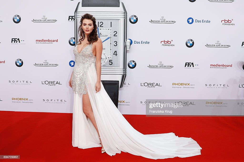 German actress <a gi-track='captionPersonalityLinkClicked' href=/galleries/search?phrase=Ruby+O.+Fee+-+Actress&family=editorial&specificpeople=7596829 ng-click='$event.stopPropagation()'>Ruby O. Fee</a> during the Lola German Film Award (Deutscher Filmpreis) 2016 on May 27, 2016 in Berlin, Germany.