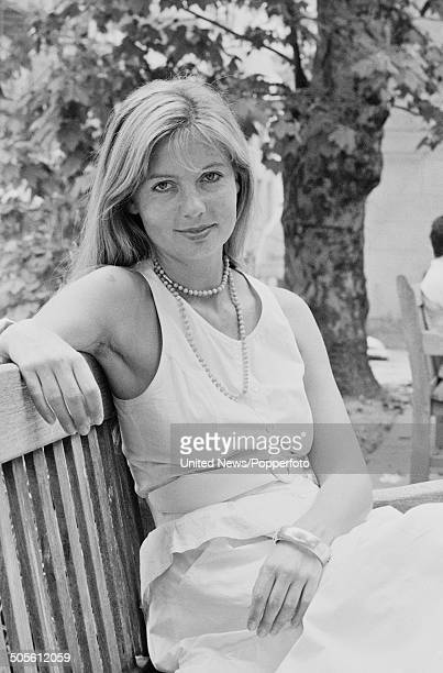German actress Sabine Postel posed in London on 20th June 1984