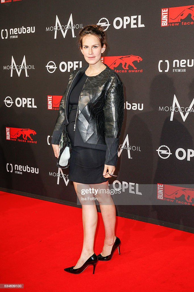 German actress Saralisa Volm attends the New Faces Award Film 2016 at ewerk on May 26, 2016 in Berlin, Germany.