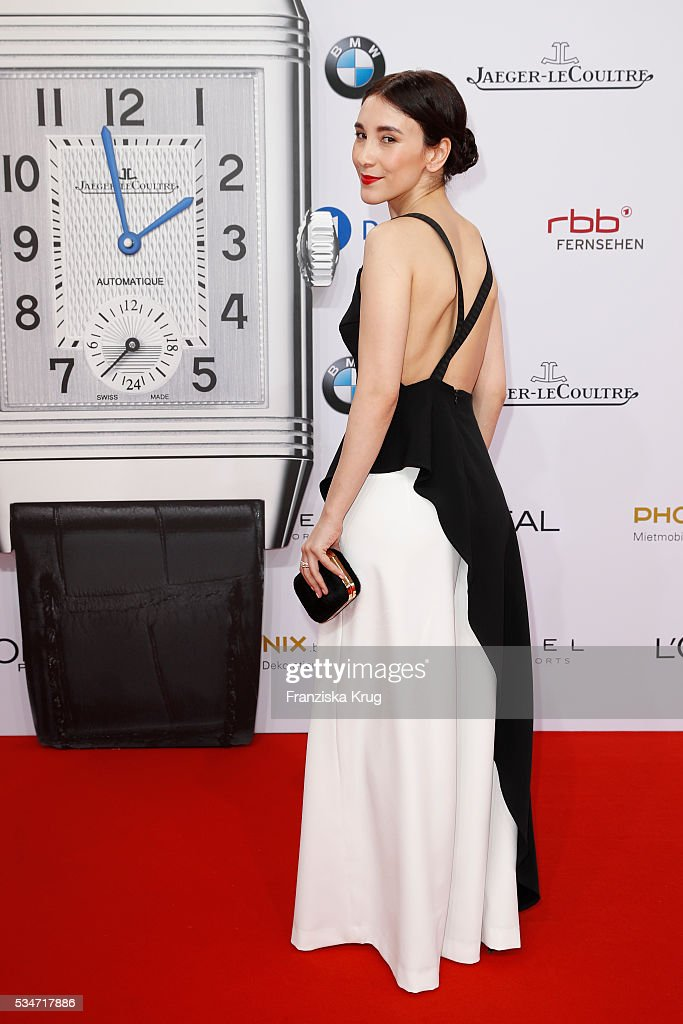 German actress <a gi-track='captionPersonalityLinkClicked' href=/galleries/search?phrase=Sibel+Kekilli&family=editorial&specificpeople=208816 ng-click='$event.stopPropagation()'>Sibel Kekilli</a> during the Lola German Film Award (Deutscher Filmpreis) 2016 on May 27, 2016 in Berlin, Germany.