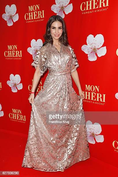 German actress Sila Sahin attends the Mon Cheri Barbara Tag at Postpalast on December 2 2016 in Munich Germany