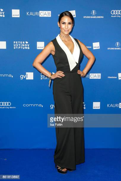 German actress Sila Sahin during the 6th German Actor Award Ceremony at Zoo Palast on September 22 2017 in Berlin Germany