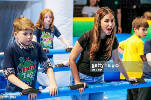 German actress Sila Sahin during the KinderTag to celebrate children's day on September 19 2017 in Berlin Germany