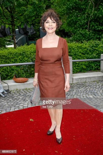 German actress Simone Rethel attends the Bayerischer Fernsehpreis 2017 at Prinzregententheater on May 19 2017 in Munich Germany