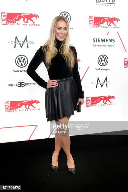 German actress Sina Tkotsch attends the New Faces Award Style 2017 at The Grand on November 15 2017 in Berlin Germany