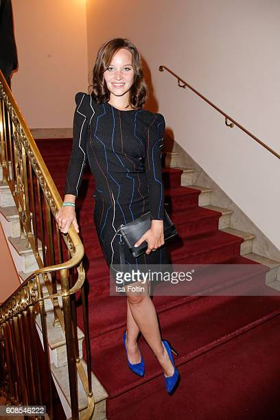 German actress Sonja Gerhardt attends the First Steps Awards 2016 at Stage Theater on September 19 2016 in Berlin Germany