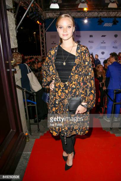 German actress Sonja Gerhardt attends the First Steps Awards 2017 at Stage Theater on September 18 2017 in Berlin Germany
