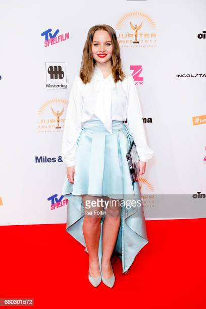 German actress Sonja Gerhardt attends the Jupiter Award at Cafe Moskau on March 29 2017 in Berlin Germany