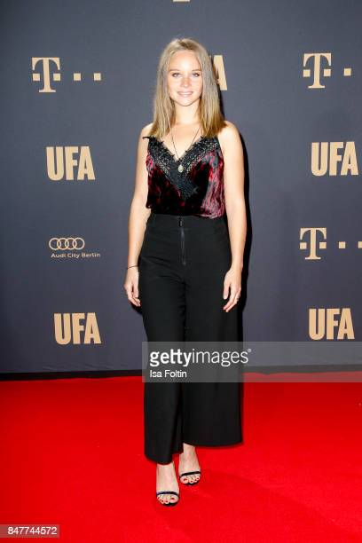 German actress Sonja Gerhardt attends the UFA 100th anniversary celebration at Palais am Funkturm on September 15 2017 in Berlin Germany