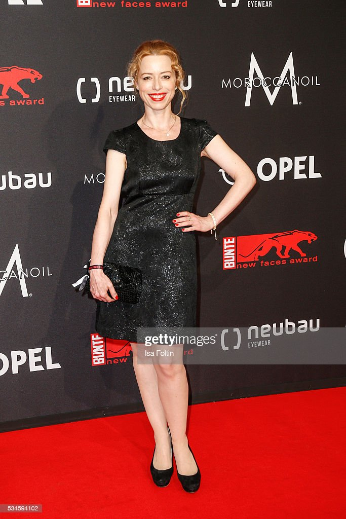 German actress Sonja Kerskes attends the New Faces Award Film 2016 at ewerk on May 26, 2016 in Berlin, Germany.