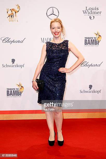 German actress Sonja Kerskes attends the Tribute To Bambi at Station on October 6 2016 in Berlin Germany