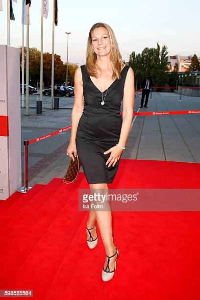German actress Sophie Schuett attends the IFA 2016 opening gala on September 1 2016 in Berlin Germany