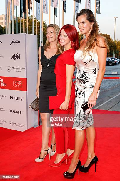 German actress Sophie Schuett Miss IFA and german actress Alexandra Kamp attend the IFA 2016 opening gala on September 1 2016 in Berlin Germany