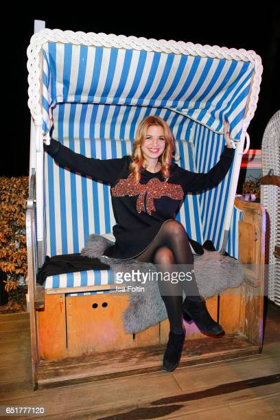 German actress Susan Sideropoulos attends the 'Baltic Lights' charity event on March 10 2017 in Heringsdorf Germany Every year German actor Till...