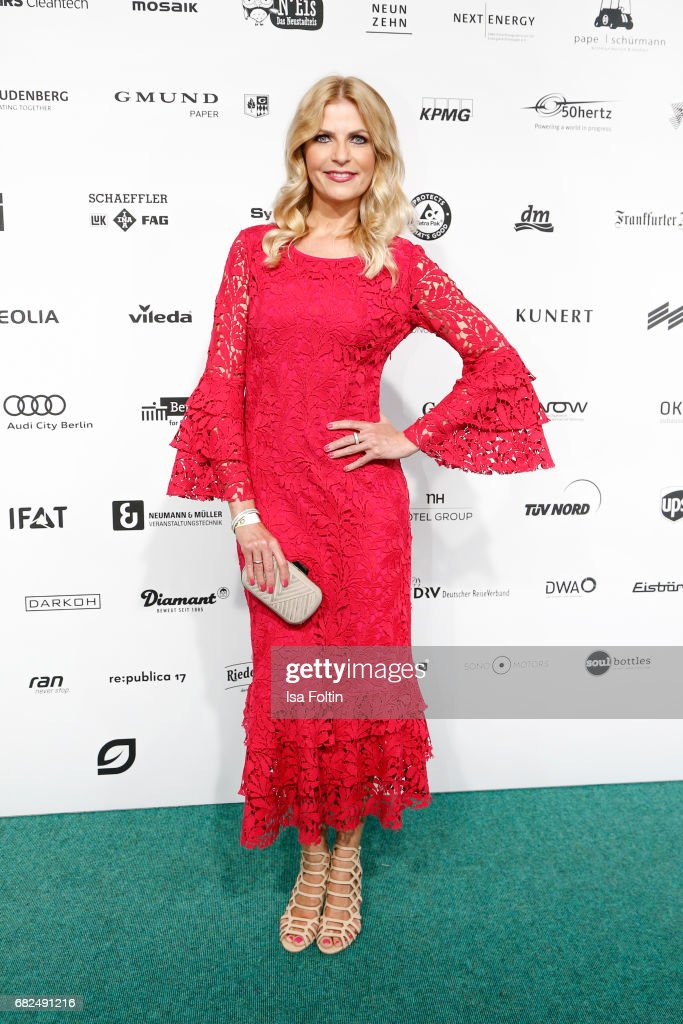 German actress Tanja Buelter attends the GreenTec Awards at ewerk on May 12, 2017 in Berlin, Germany.