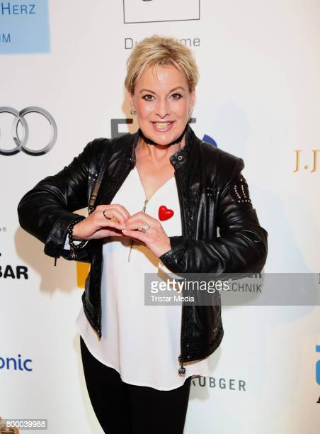 German actress Tanja Schumann attends the Charity Evening 'Das kleine Herz im Zentrum' at Curio Haus on June 22 2017 in Hamburg Germany