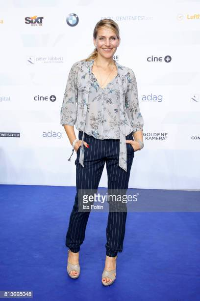 German actress Tanja Wedhorn attends the summer party 2017 of the German Producers Alliance on July 12 2017 in Berlin Germany