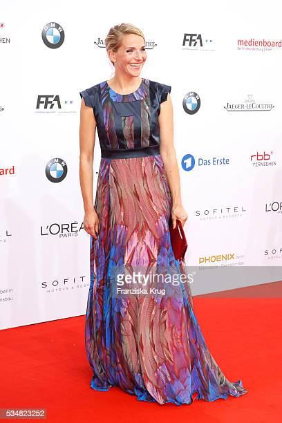 German actress Tanja Wedhorn during the Lola German Film Award 2016 on May 27 2016 in Berlin Germany