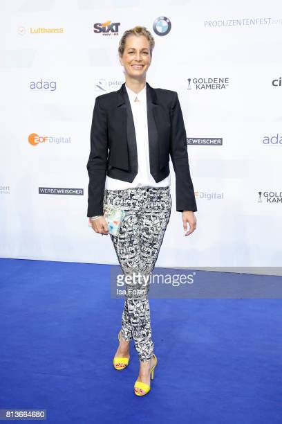 German actress Tina Bordihn attends the summer party 2017 of the German Producers Alliance on July 12 2017 in Berlin Germany