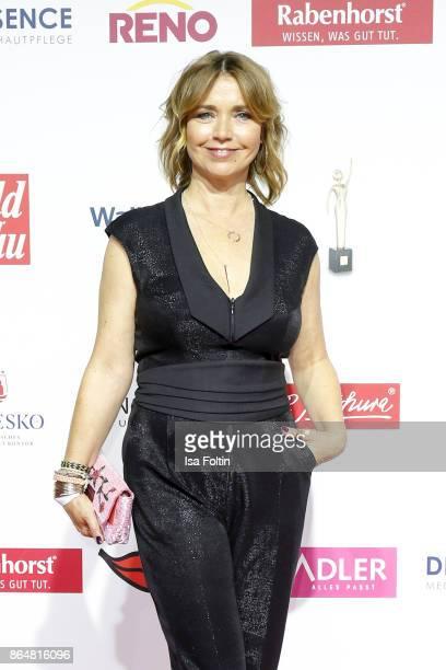 German actress Tina Ruland attends the 'Goldene Bild der Frau' award at Hamburg Cruise Center on October 21 2017 in Hamburg Germany