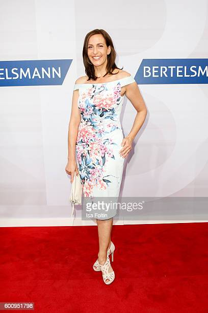 German actress Ulrike Frank attends the Bertelsmann Summer Party at Bertelsmann Repraesentanz on September 8 2016 in Berlin Germany