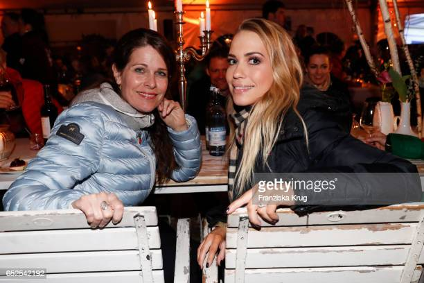 German actress Ursula Buschhorn and german actress LaraIsabelle Rentinck attend the 'Baltic Lights' charity event on March 11 2017 in Heringsdorf...
