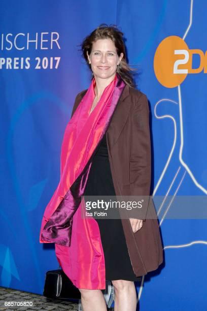 German actress Ursula Buschhorn attends the Bayerischer Fernsehpreis 2017 at Prinzregententheater on May 19 2017 in Munich Germany