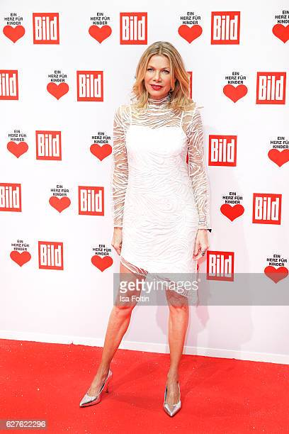 German actress Ursula Karven attends the Ein Herz Fuer Kinder gala on December 3 2016 in Berlin Germany