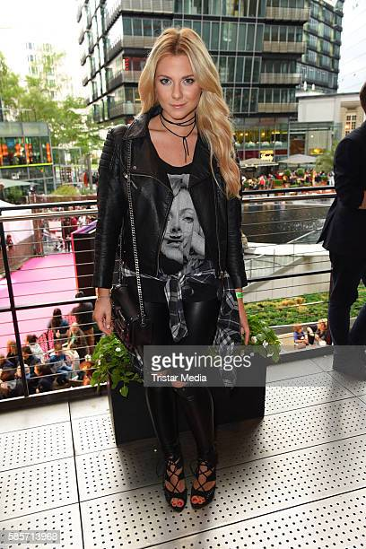 German actress Valentina Pahde attends the Suicide Squad Live Event at CineStar on August 3 2016 in Berlin Germany