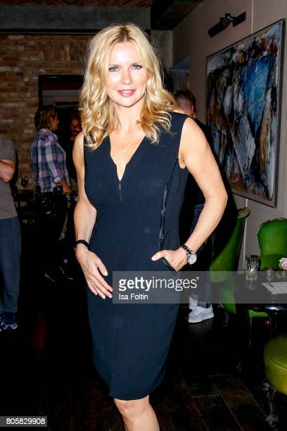 German actress Veronica Ferres during the host of Annabelle Mandengs Ladies Dinner at Hotel Zoo on July 2 2017 in Berlin Germany