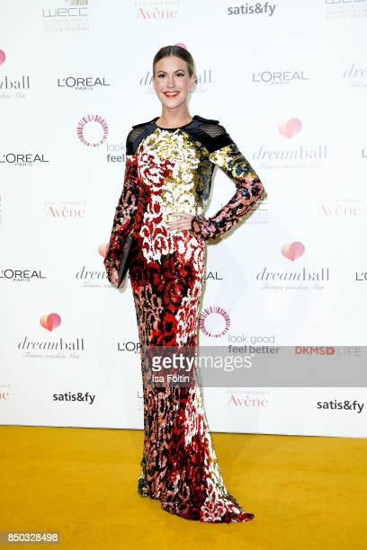 German actress Wolke Hegenbarth attends the Dreamball 2017 at Westhafen Event Convention Center on September 20 2017 in Berlin Germany