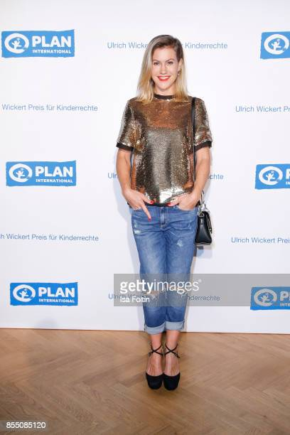German actress Wolke Hegenbarth attends the Ulrich Wickert Award For Children's Rights at Stadtbad Oderberger on September 28 2017 in Berlin Germany