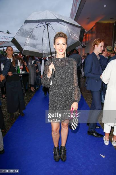 German actress Wolke Hegenbarth during the summer party 2017 of the German Producers Alliance on July 12 2017 in Berlin Germany