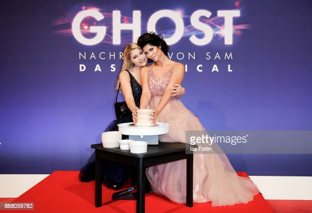 German actress Yvonne Woelke and model Micaela Schaefer during the premiere of 'Ghost Das Musical' at Stage Theater on December 7 2017 in Berlin...