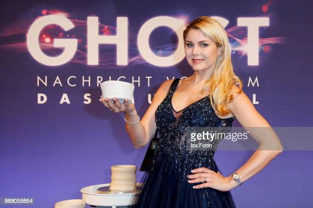 German actress Yvonne Woelke during the premiere of 'Ghost Das Musical' at Stage Theater on December 7 2017 in Berlin Germany