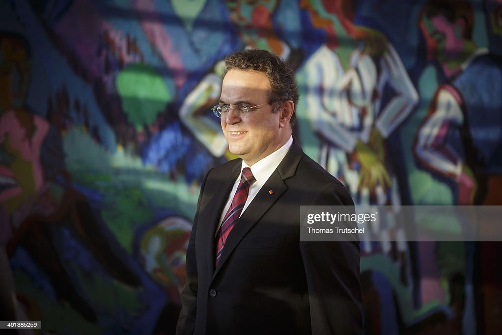 German Agriculture and Consumer Protection Minister HansPeter Friedrich arrives for one of the first weekly sessions of the new German coalition...