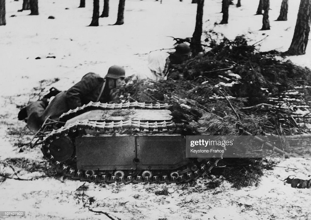 German Anti Tank Weapon The Goliath In Ussr On March 29Th 1944