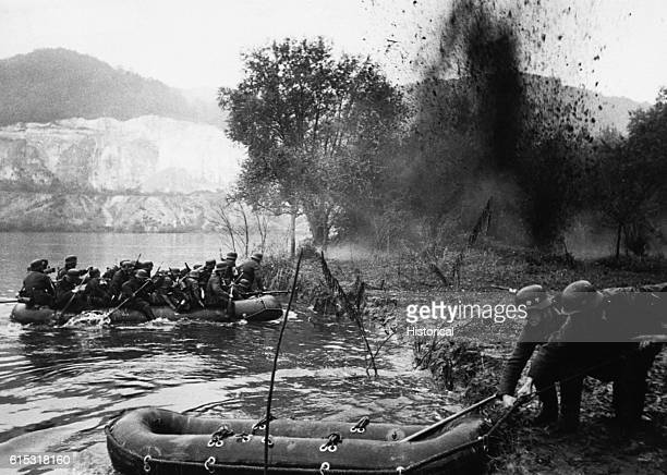 German Army Under Fire