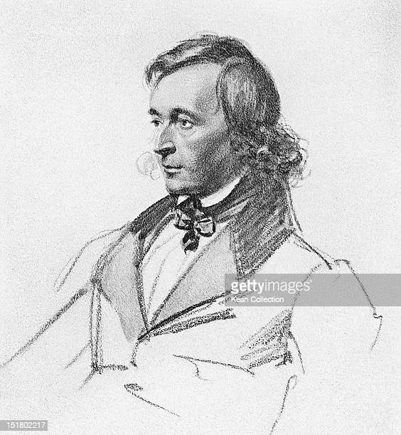 German author and collector of folk tales Wilhelm Grimm circa 1840 He and his brother Jacob are best known as the Editors of 'Grimms' Fairy Tales'...