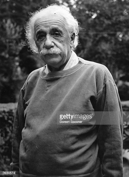German born American physicist Albert Einstein awarded Nobel prize for physics at Princeton in New Jersey